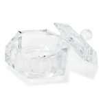 NSI Glass Dappen Dish with lid (Exclusively for Licensed Professionals) - IBD Boutique