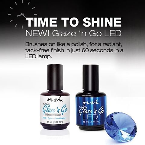 NSI GLAZE 'N GO LED 15ml(Exclusively for Licensed Professionals) - IBD Boutique