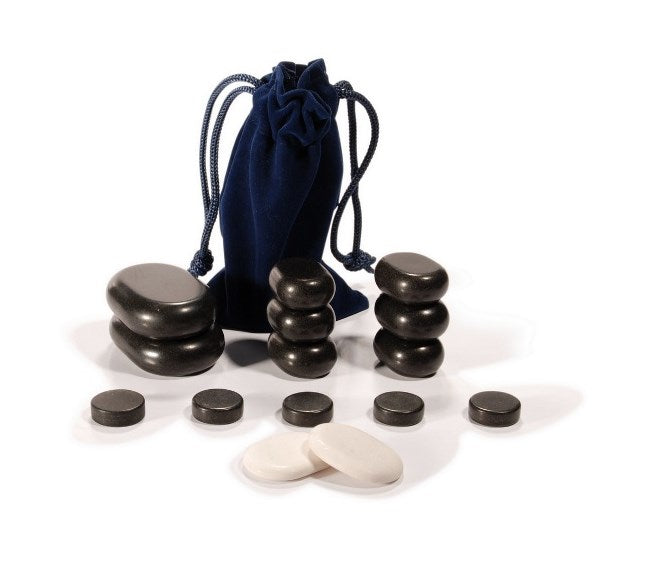GD Facial Basalt Stone Massage 16 Piece Set