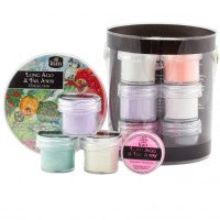 INM Acrylics Acrylic Powders Long Ago & Far Waya Collection Kit (12 POTS X 7gms EACH)