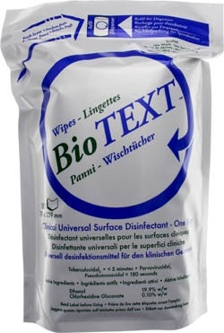 Micrylium Micrylium BioText Eurowipes Refill 100/roll