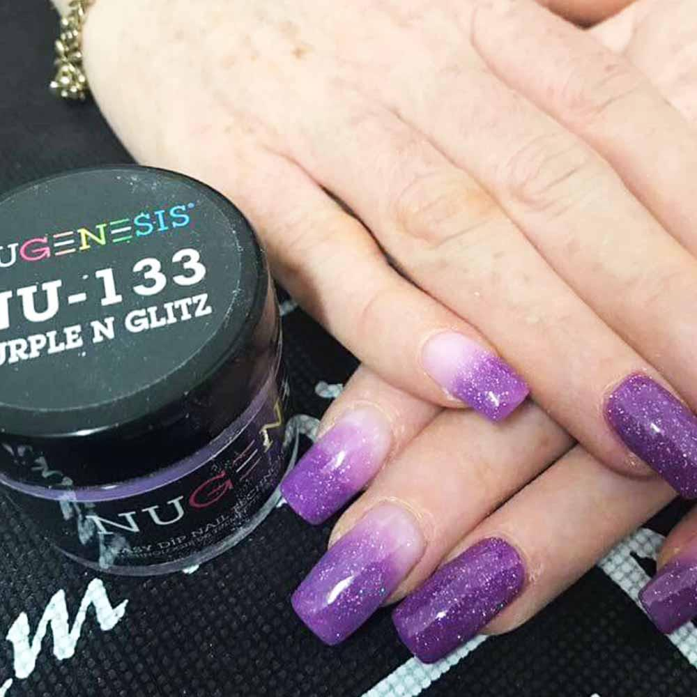 NuGenesis NU-133 Purple N Glitz (Metallic)