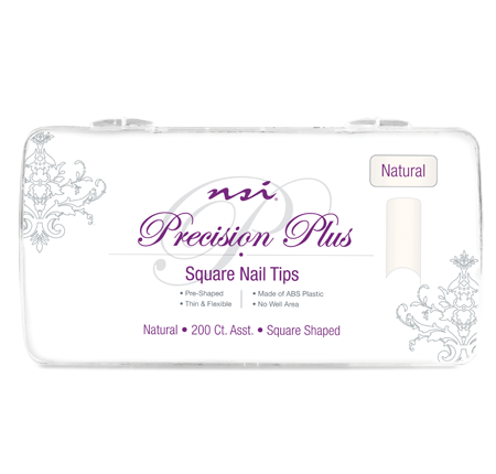 NSI PRECISION NATURAL NAIL TIP