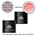 LCN Quick Colour Base Gel 10ml with Hype Trend # 706