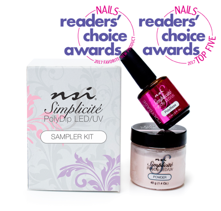 NSI Simplicite PolyDip Sampler Kit (Exclusively for Licensed Professionals) - IBD Boutique
