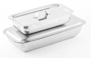 IBD Stainless Steel Instrument Tray with Lid