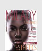 NP MILADY STANDARD ESTHETICS FUNDAMENTALS: TEXT W/ EXAM REVIEW BUNDLE 11TH ED.