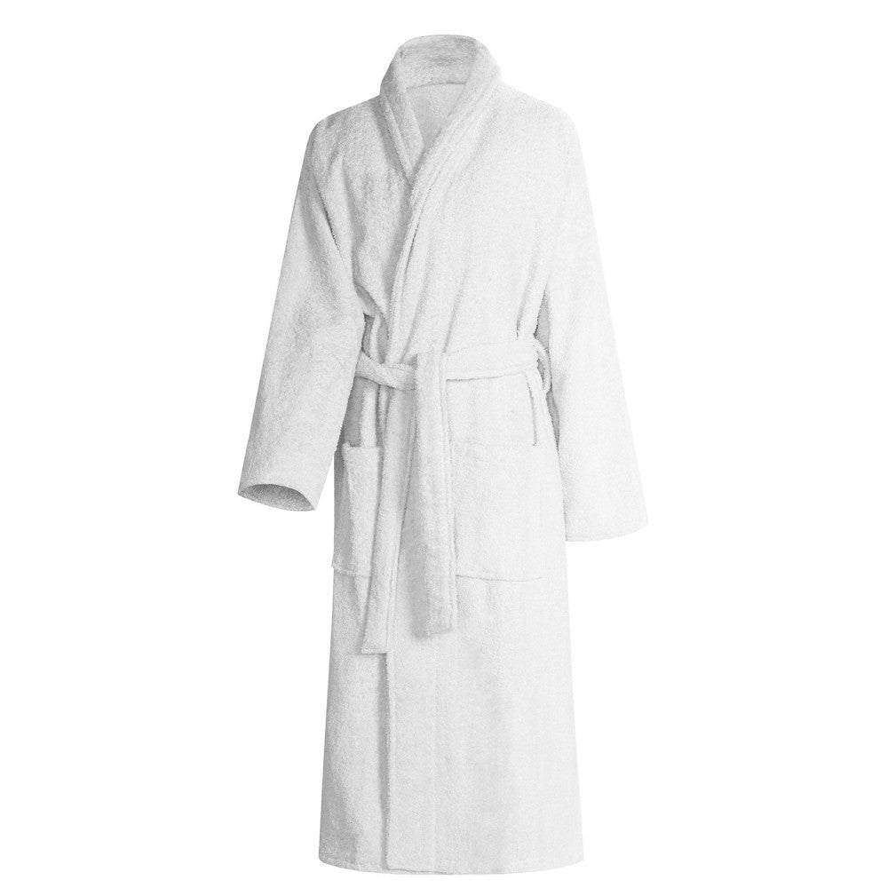 IBD 100% Hotel spa Robes Luxury Velour Plush Shawl Collar