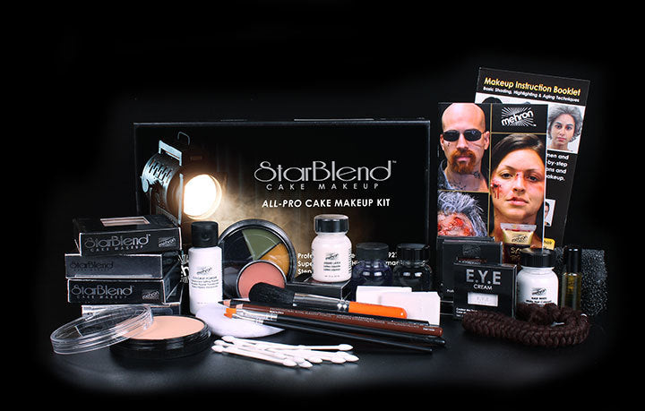 StarBlend All-Pro cake Makeup Kit - IBD Boutique