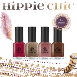 LCN-Hippie Chic Nail Polish Trend Set