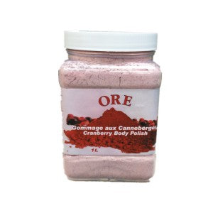 ORE Cranberry Body Scrub