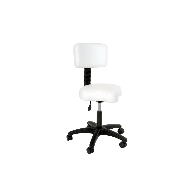 Silhouet-Tone CONTOURED STOOL AIR-LIFT WITH BACKREST