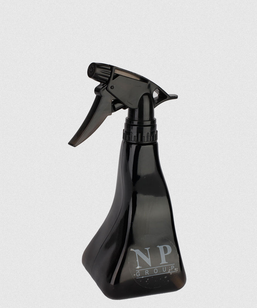 NP CURVE BLACK SPRAY BOTTLE