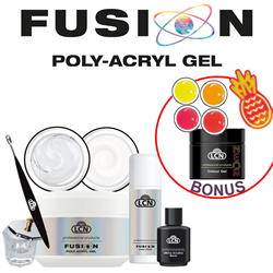 LCN-Fusion Poly-Acryl Gel Starter Set with FREE Neon Collection