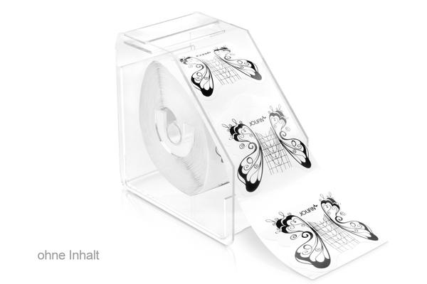 IBD Clear Acrylic Nail Form Dispenser - IBD Boutique