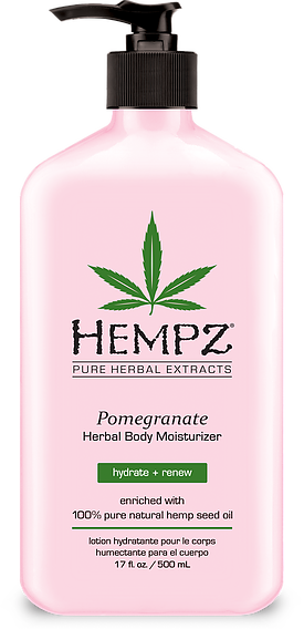 HEMPZ® POMEGRANATE HERBAL BODY MOISTURIZER