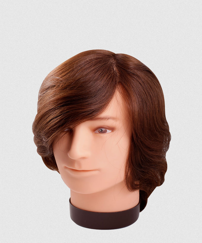 NP REMY HAIR MALE MANNEQUIN 6-7""
