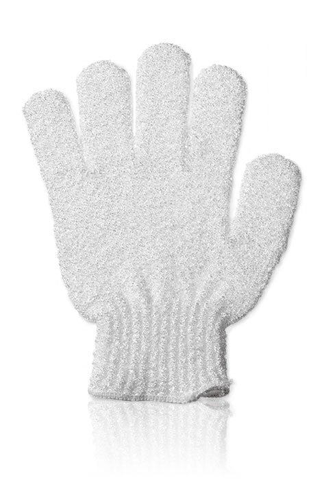 IBD White Exfoliating Gloves