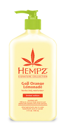 HEMPZ® GOJI ORANGE LEMONADE HERBAL BODY MOISTURIZER