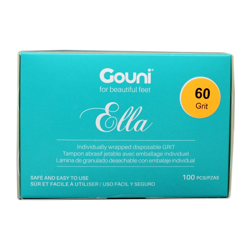 GOUNI DISPOSABLE STRIPS 60 GRIT - 100PK