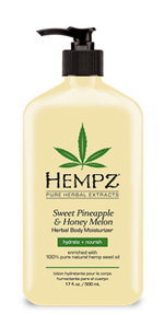 HEMPZ® SWEET PINEAPPLE & HONEY MELON HERBAL BODY MOISTURIZER