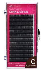 JB Black Synthetic Mink Lashes C-Curl - IBD Boutique