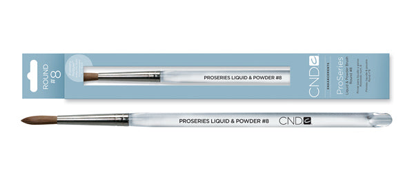 CND LIQUID & POWDER BRUSHES #8 - IBD Boutique