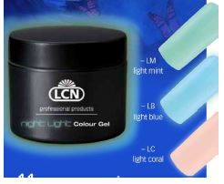 LCN Night Light Colour Gel 5ml - IBD Boutique