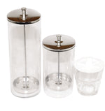GLASS SANITIZING JAR - IBD Boutique