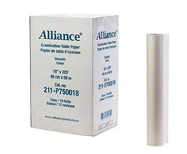 ALLIANCE - EXAM TABLE PAPER SMOOTH 21″ X 225′