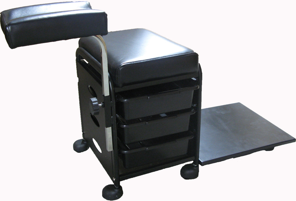 GD Pedicure Trolley (White or Black) - IBD Boutique