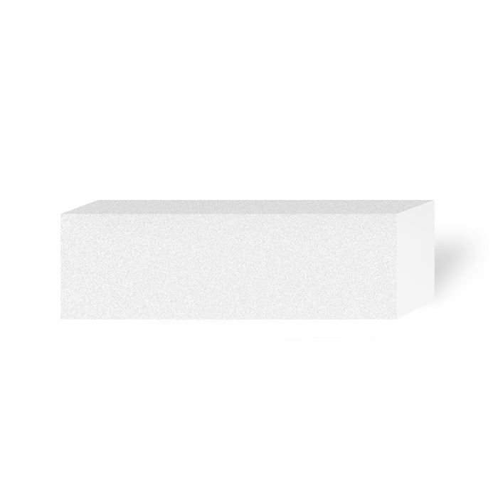 IBD WHITE SANDING BLOCK 4 SIDED 100/100 GRID (10pc/pk)