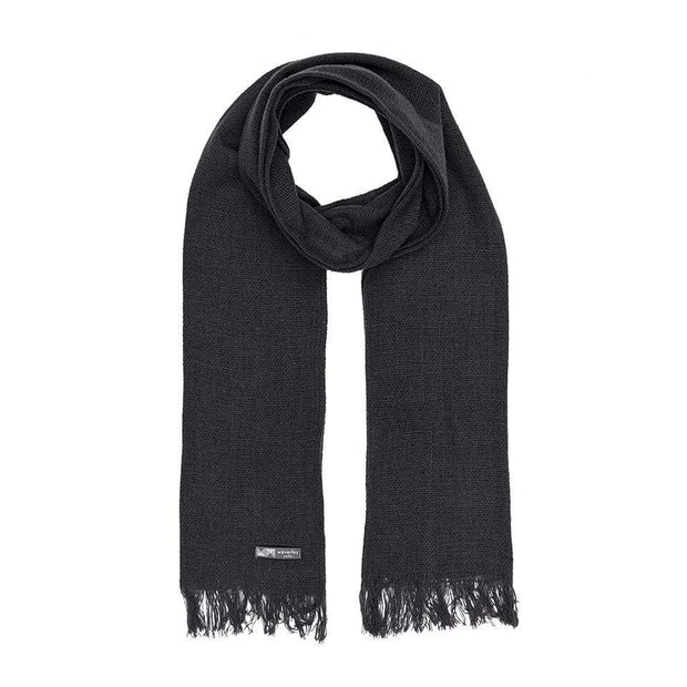 Waverley Mills 18 Micron;Scarf Hinsby Merino Scarf-Black