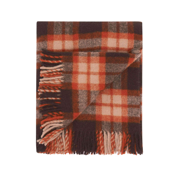 Waverley Mills 29 Micron;Throw Matilda Tartan Merino Travel Rug