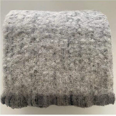 Waverley Mills Alpaca;Throw Alpaca Throw Grey Marle