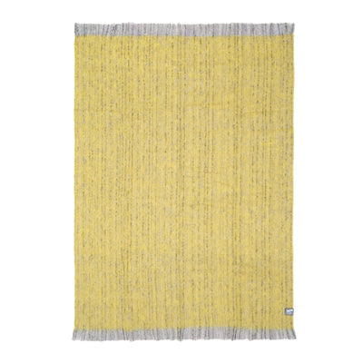Waverley Mills Alpaca;Throw Alpaca Throw Yellow Marle