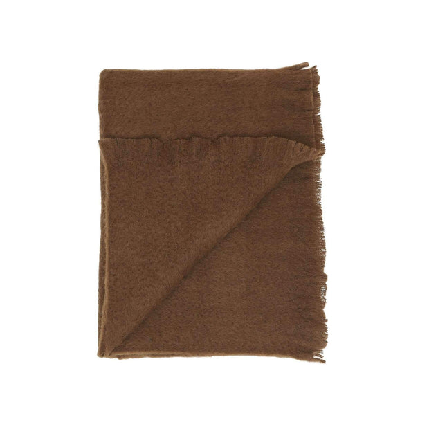 Waverley Mills Alpaca;Throw Classic Alpaca Throw - Deep Chocolate