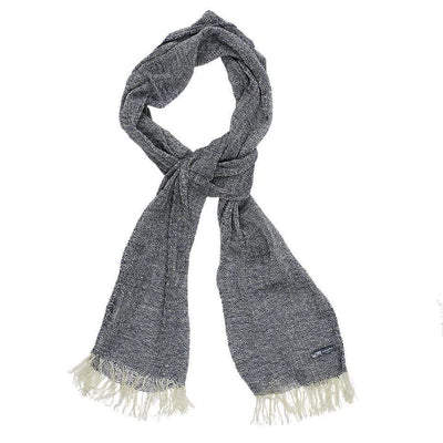 Waverley Mills Recycled;Scarf Recycled Hinsby Open Weave MP Wool Scarf Grey