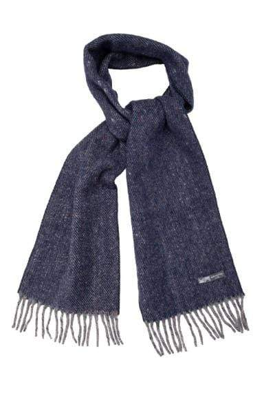 Waverley Mills Recycled;Scarf Recycled Scarf Diagonal Navy