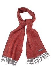 Waverley Mills Recycled;Scarf Recycled Scarf Diagonal Red