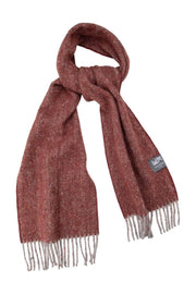 Waverley Mills Recycled;Scarf Recycled Scarf Diagonal Wine
