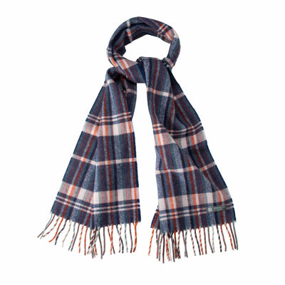 Waverley Mills Recycled;Scarf Recycled Striped Scarf Navy