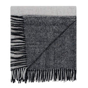 Waverley Mills Recycled;Throw Recycled Big Check Throw Charcoal