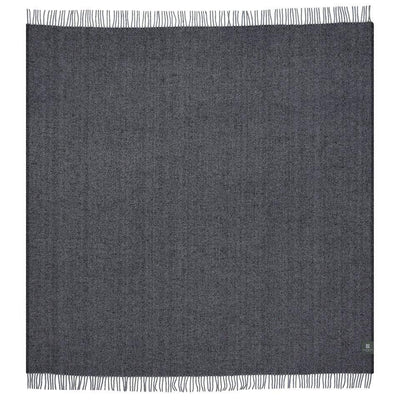 Waverley Mills Recycled;Throw Recycled Diagonal Throw Charcoal