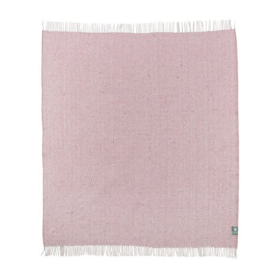 Recycled Diagonal Throw Light Pink