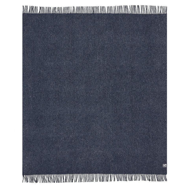 Waverley Mills Recycled;Throw Recycled Fringed Throw Denim