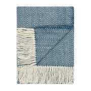 Waverley Mills Recycled;Throw Recycled Herringbone MP Throw Reflecting Pond