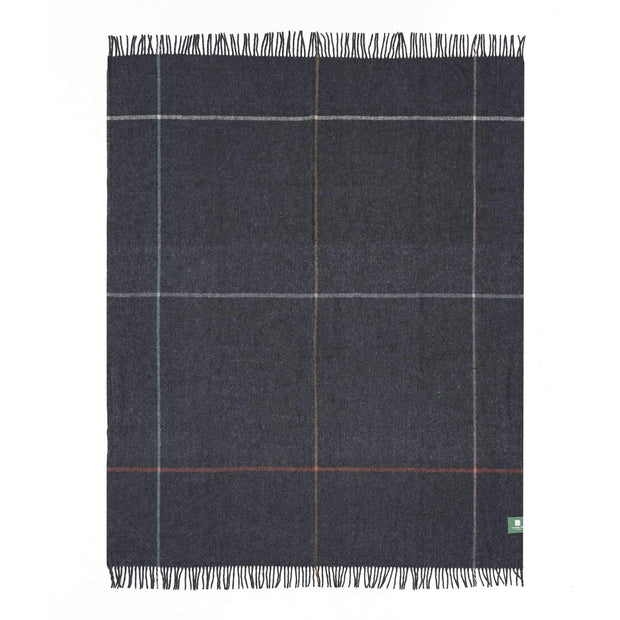 Waverley Mills Recycled;Throw Recycled Multi Grid Throw Grey
