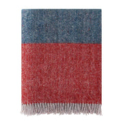 Waverley Mills Recycled;Throw Recycled Stripe Throw Desert Red/Teal