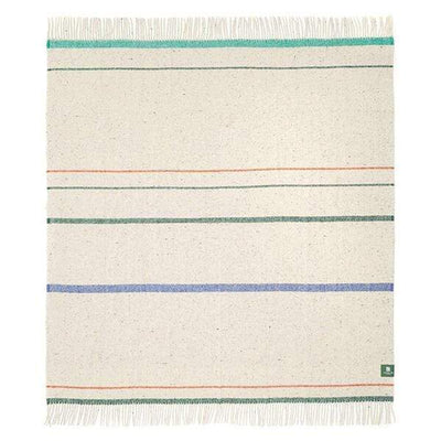 Waverley Mills Recycled;Throw Strong Stripe Recycled Throw - Dark Green